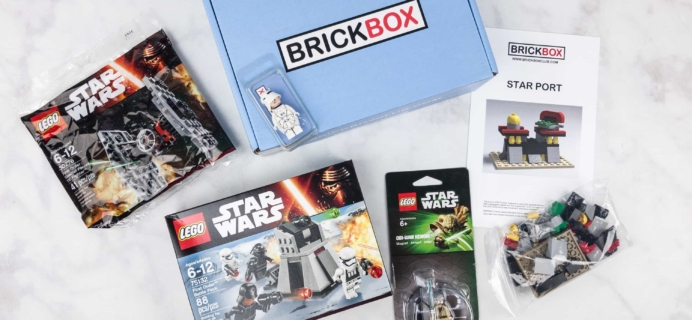 BrickBox September 2017 Subscription Box Review