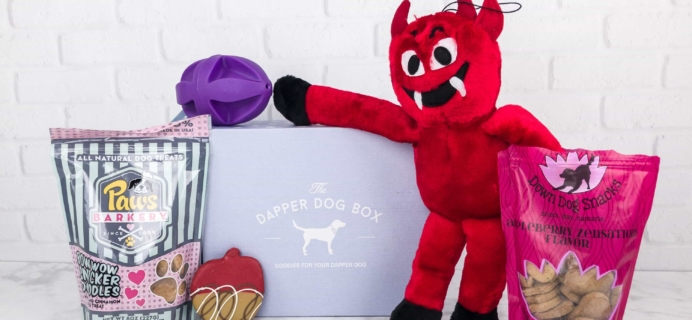 The Dapper Dog Box October 2017 Subscription Box Review + Coupon