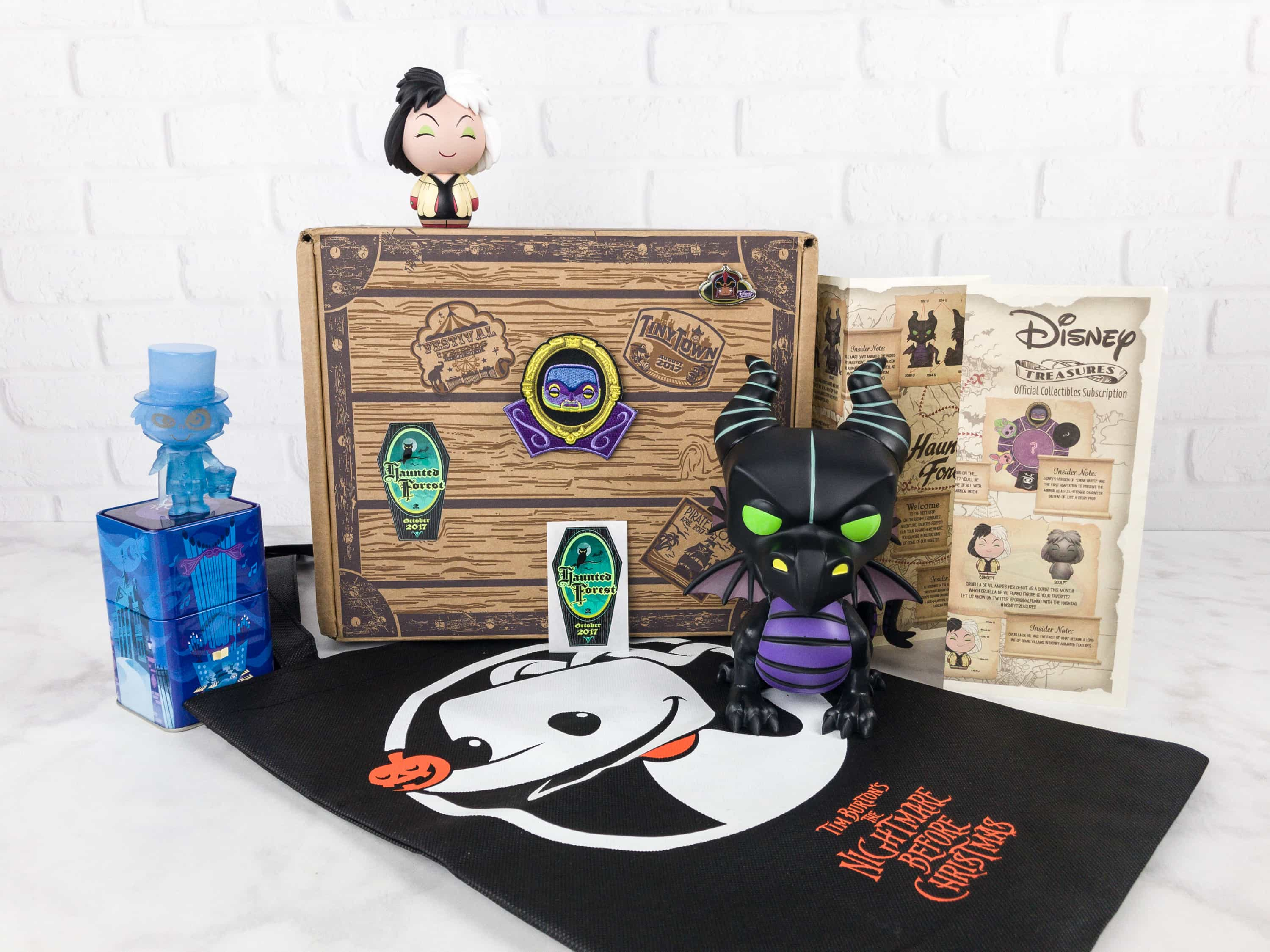 Disney Treasures October 2017 Subscription Box Review