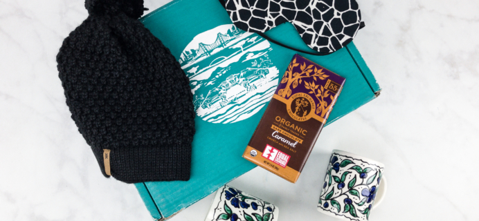 November 2017 GlobeIn Artisan SNUG Box Reviews + Coupon!