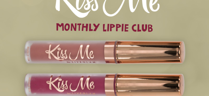 LiveGlam KissMe November 2017 Full Spoilers + Coupon!