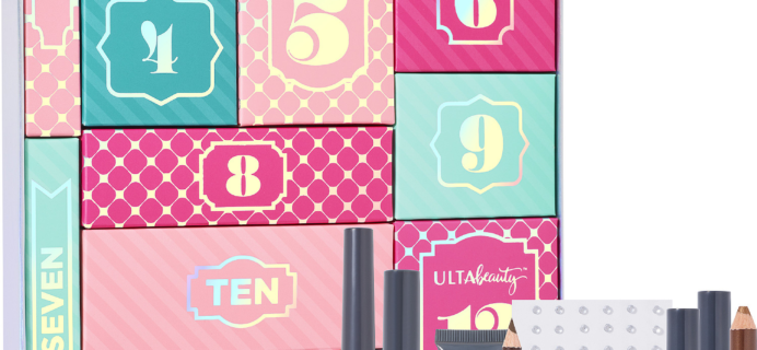 Ulta 12 Days of Beauty Advent Calendar 2017 Available Now + Coupon!