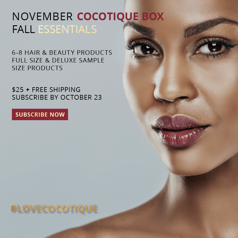 Cocotique November 2017 Spoilers + Coupon Code!