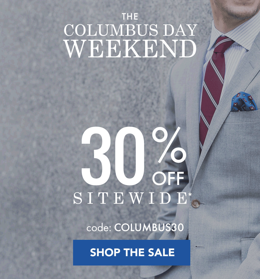 SprezzaBox Columbus Day Deal: 30% Off First Month + Entire Site!