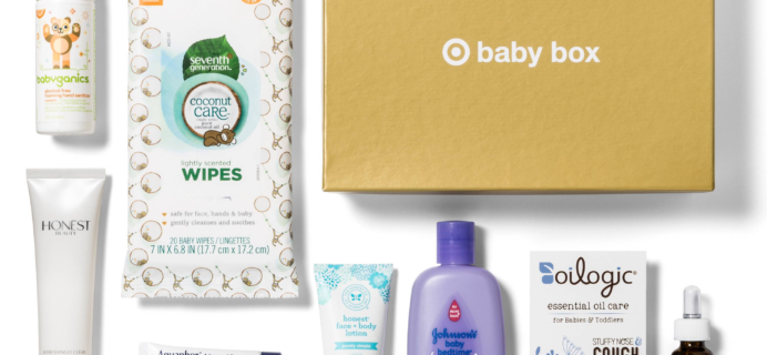 $7 October 2017 Target Baby Box Available Now!