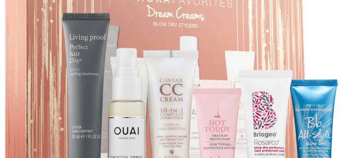New Sephora Favorites Kit Available Now: Dream Creams!