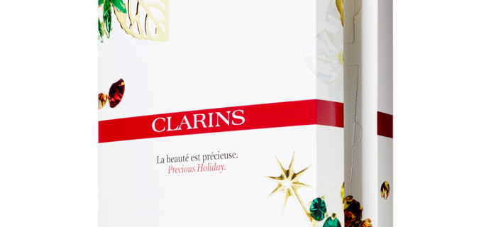 2017 Clarins Beauty Advent Calendar Available Now!