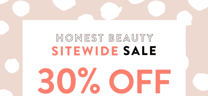Honest Beauty Coupon: Save 30% Sitewide!