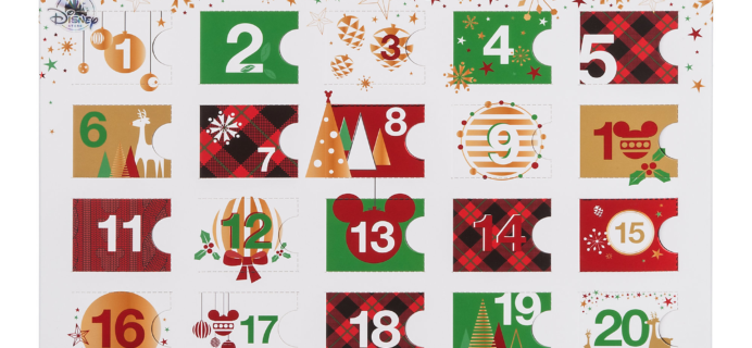 2017 Plush Tsum Tsum Disney Store Exclusive Advent Calendar Available Now!