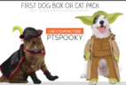 LAST DAY: Pet Treater Coupon: Half Off First Dog Box or Cat Pack!