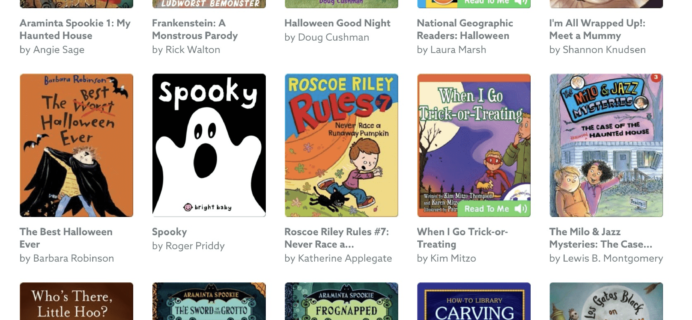 Epic! Kids Books – Halloween Books Added + Get First Month FREE!