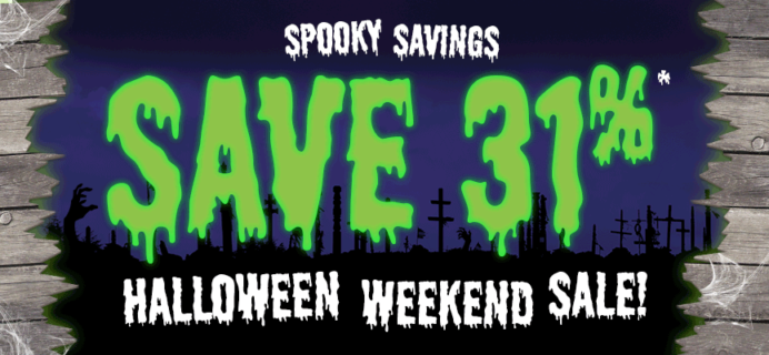 LAST DAY:  Loot Crate Halloween Flash Sale: 31% Off Crate Subscriptions!