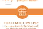 Try The World Coupon: Get 2 Boxes Free With 6 Month Subscription!