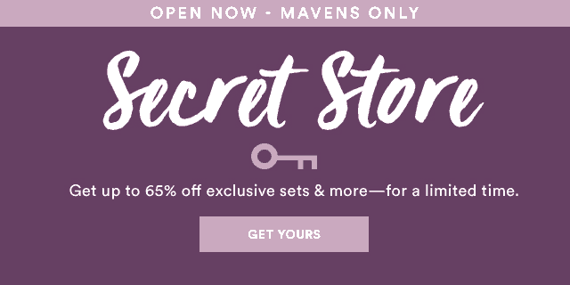 Julep November 2017 Secret Store Open For All Mavens!