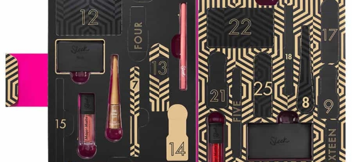 2017 Sleek MakeUp Advent Calendar Available Now!