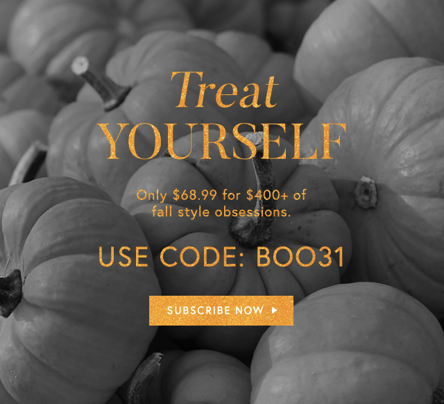 Box of Style Halloween Flash Sale: $31 Off!