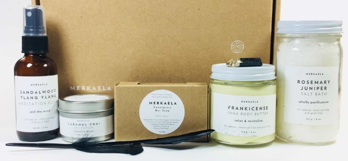Merkaela Fall 2017 Subscription Box Review + Coupon – Manifest