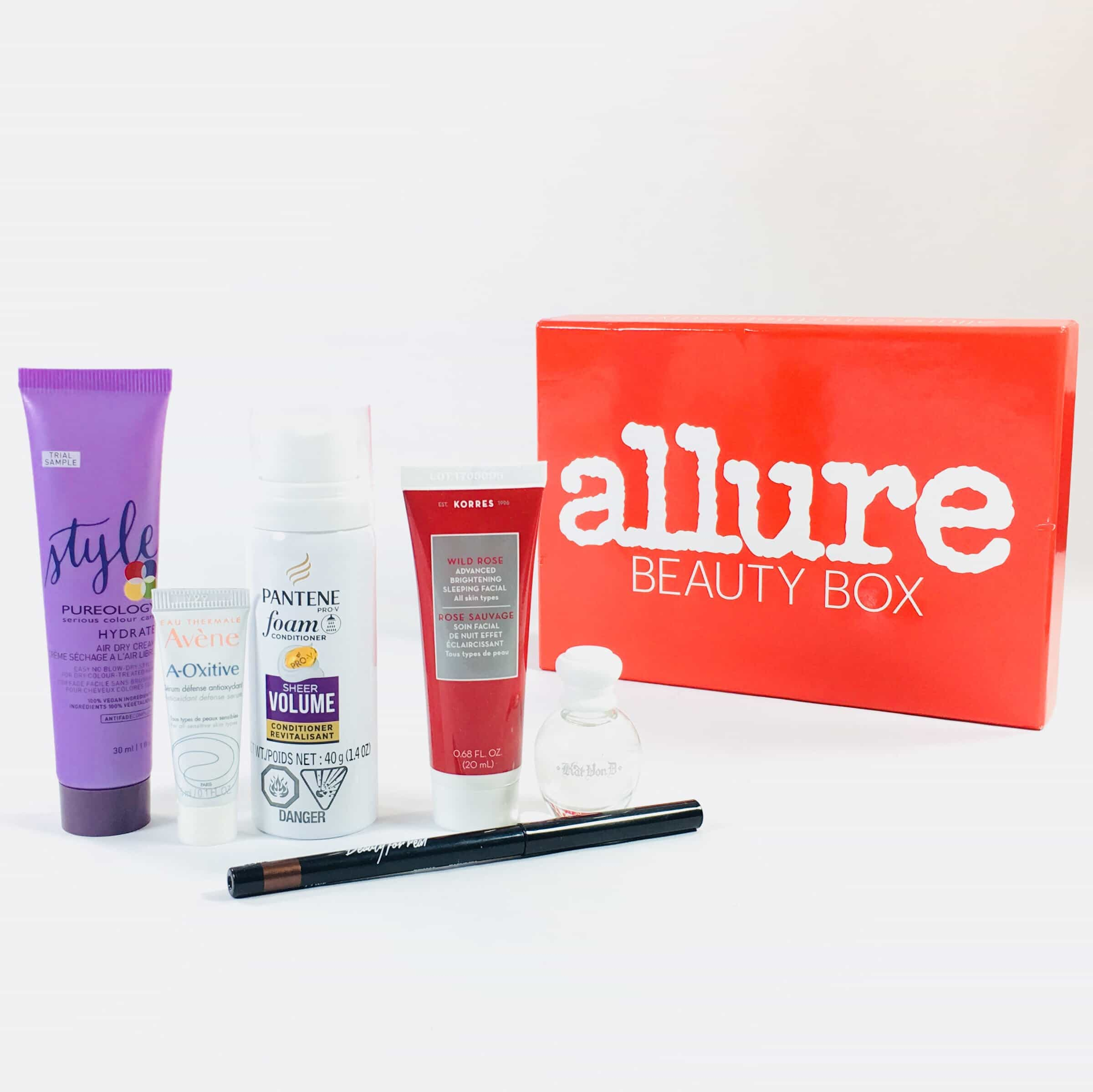 Allure Beauty Box October 2017 Subscription Box Review & Coupon