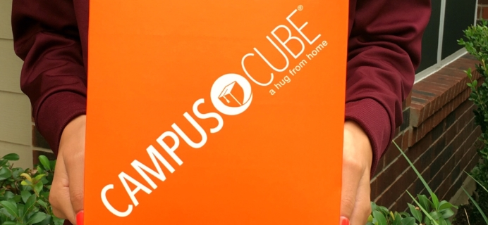 CampusCube College Care Package October 2017 Girls Cube Review + Coupon!