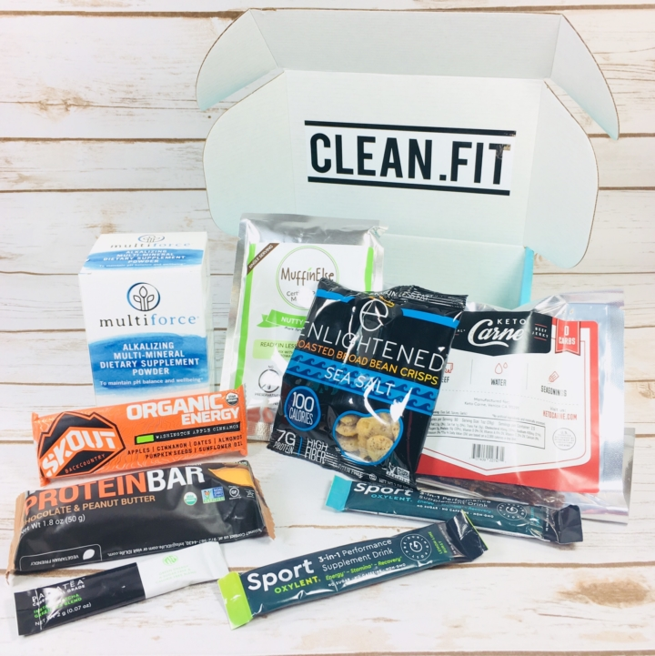 cleanfit box best women's health and wellness subscription box