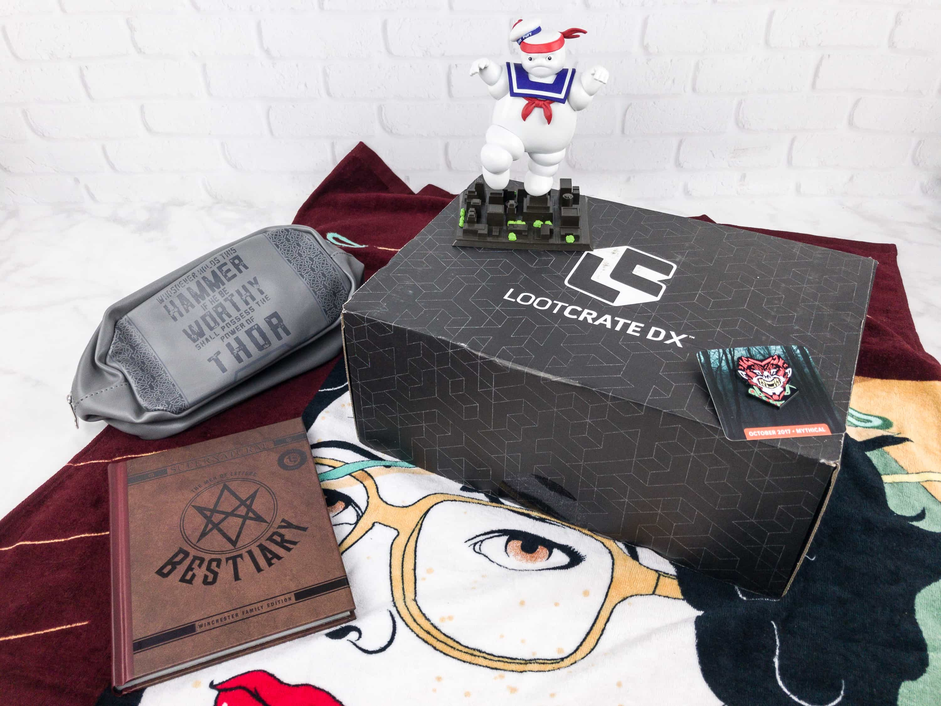 Loot Crate DX October 2017 Subscription Box Review & Coupon