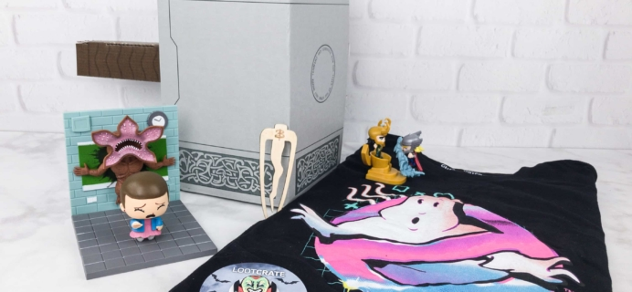 Loot Crate October 2017 Review + Coupons – MYTHICAL