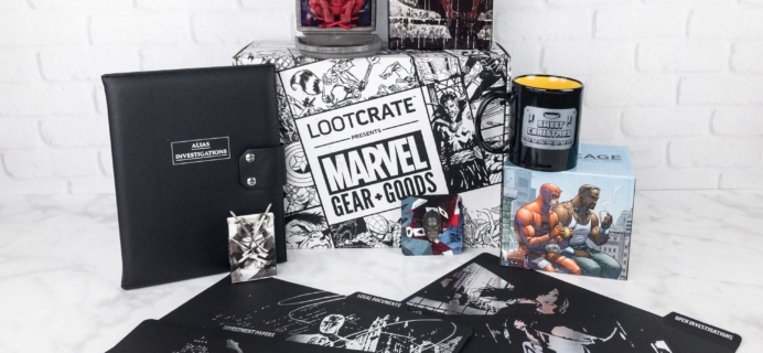 Marvel Gear + Goods September 2017 Subscription Box Review + Coupon!