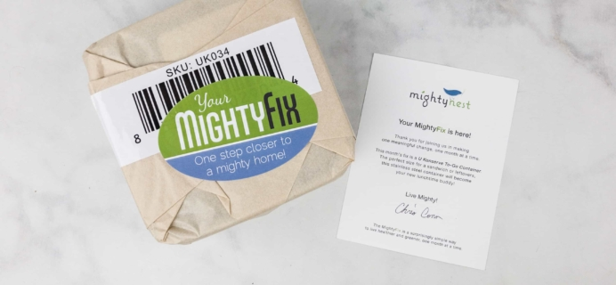 Mighty Fix October 2017 Subscription Box Review + 70% Coupon