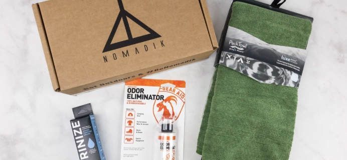 Nomadik October 2017 Subscription Box Review + Coupon