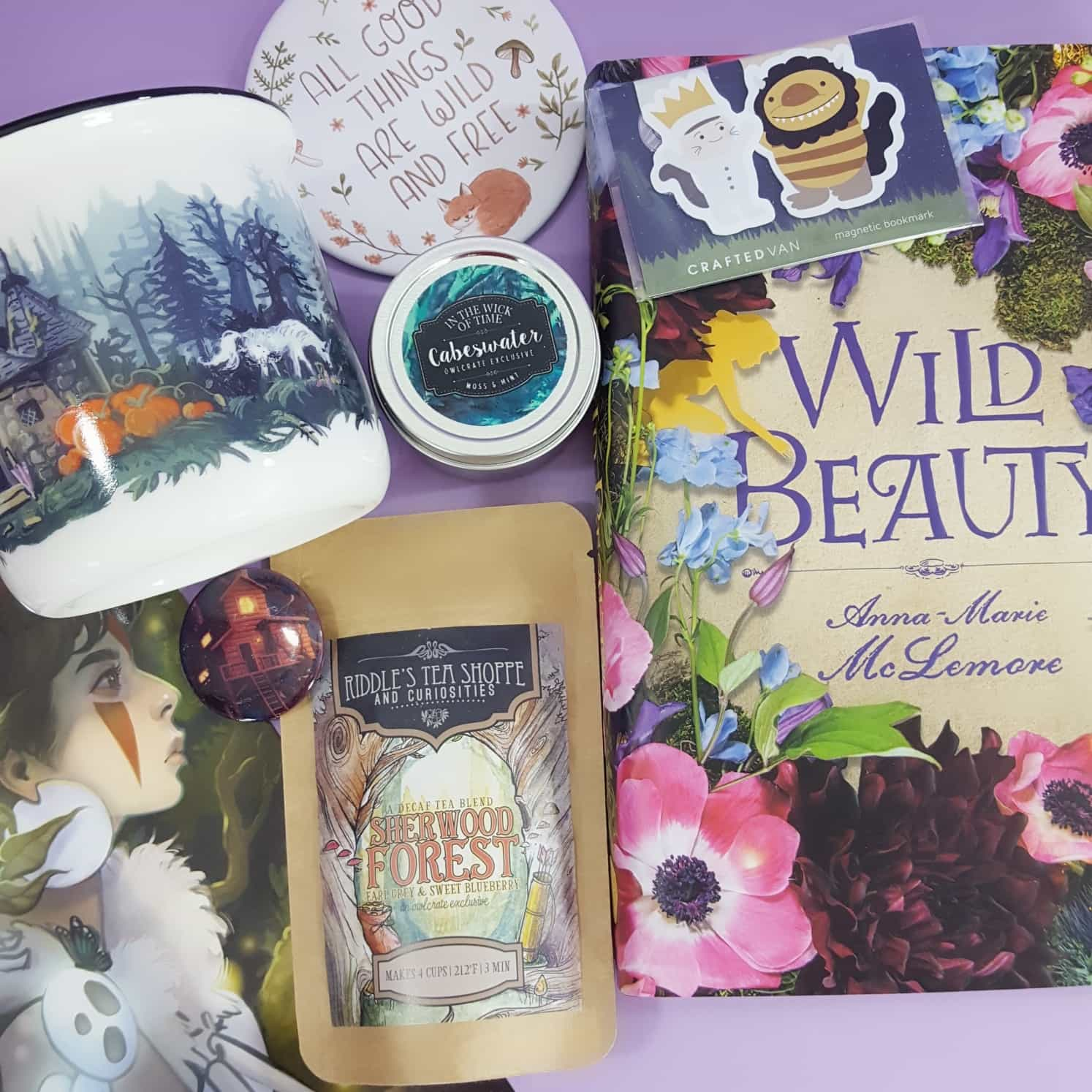 OwlCrate October 2017 Subscription Box Review + Coupon