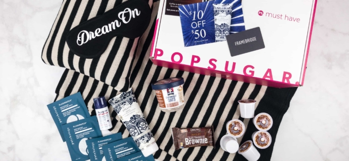 POPSUGAR Must Have Box October 2017 Review & Coupon