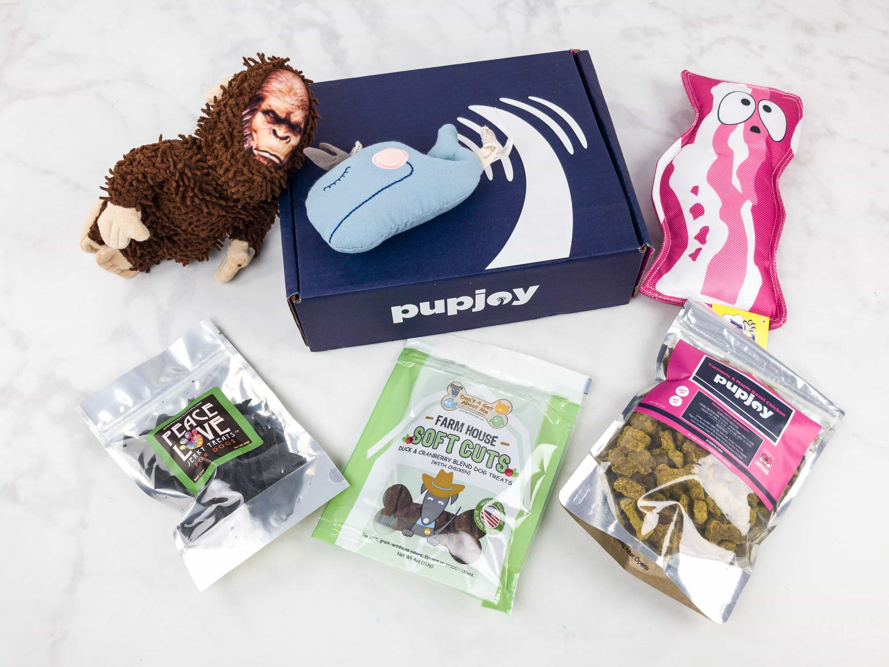 PupJoy October 2017 Subscription Box Review + Coupon