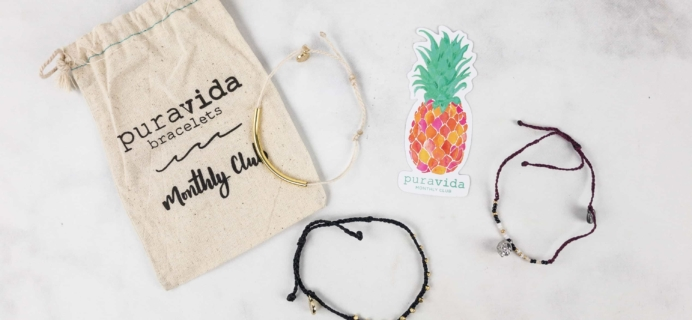 Pura Vida Monthly Club October 2017 Subscription Box Review