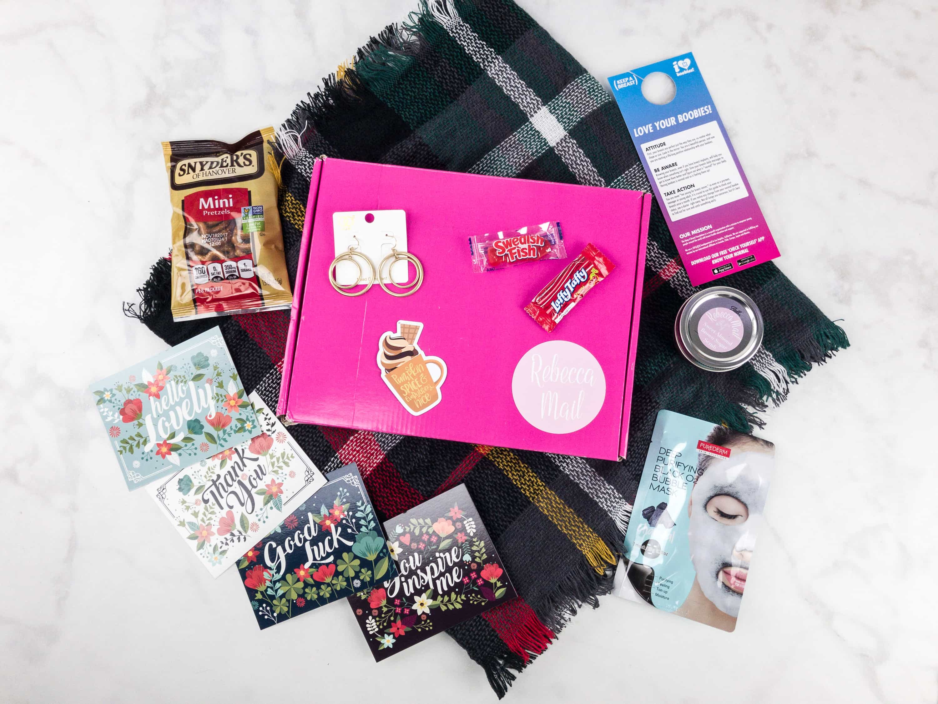 Rebecca Mail October 2017 Subscription Box Review