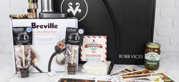 Robb Vices October 2017 Subscription Box Review + Coupon