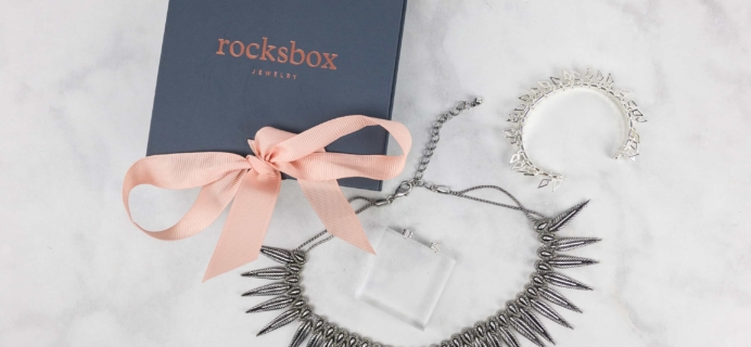 RocksBox November 2017 Review + FREE Month Coupon!