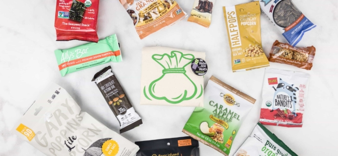 SnackSack October 2017 Subscription Box Review & Coupon – Classic