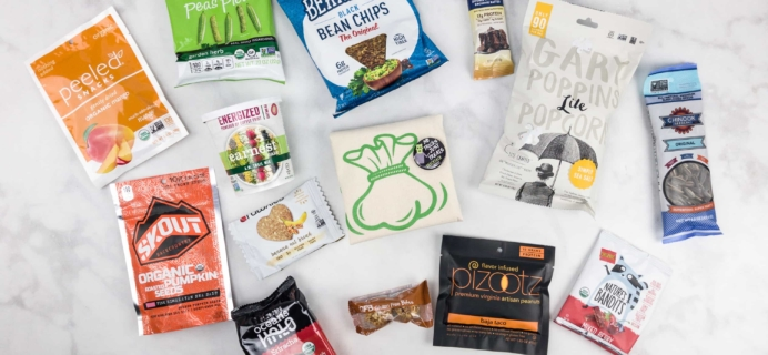 SnackSack October 2017 Subscription Box Review & Coupon – Vegan