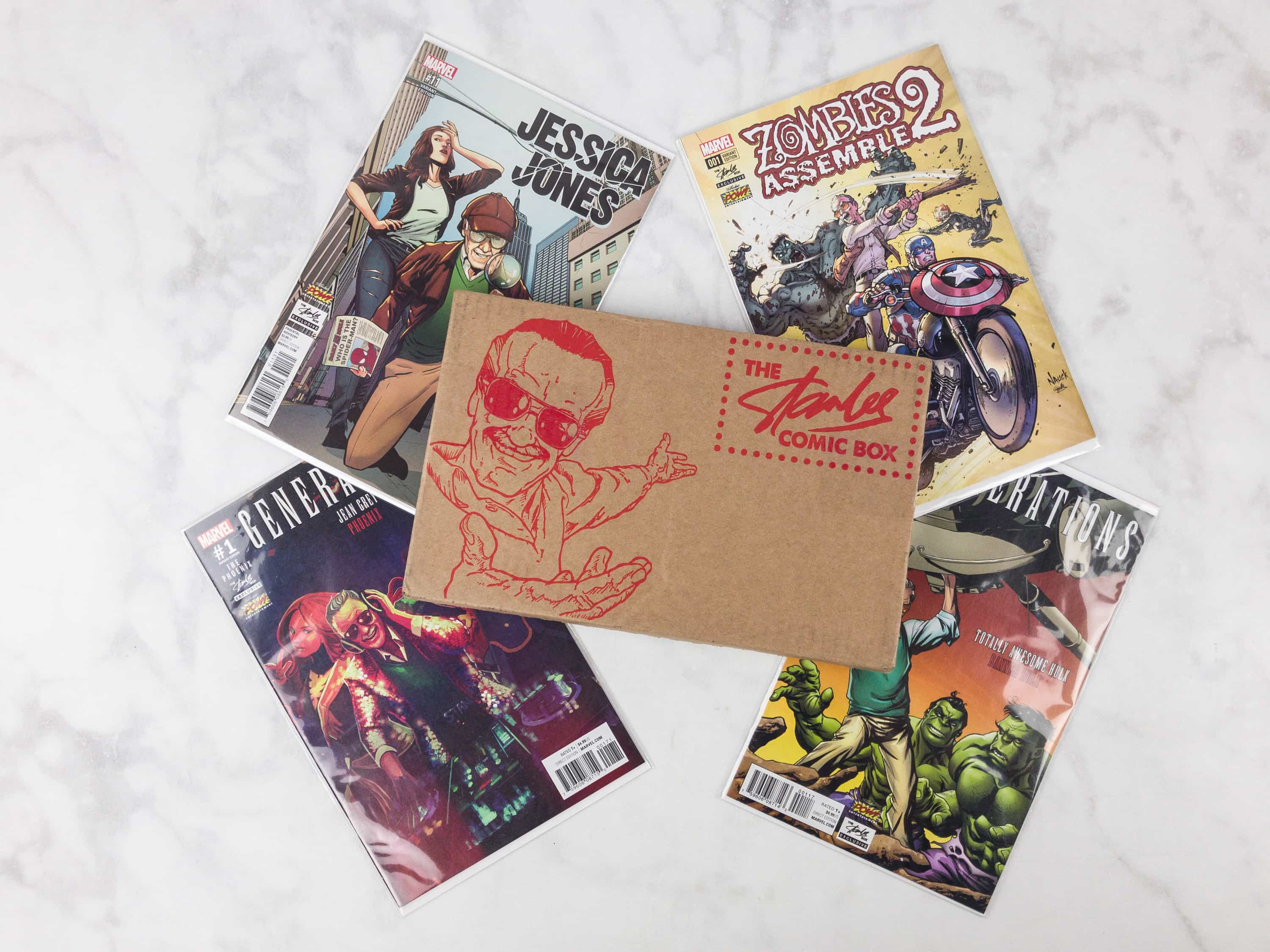 The Stan Lee Comicbook Box Giveaway – September 2017 box!