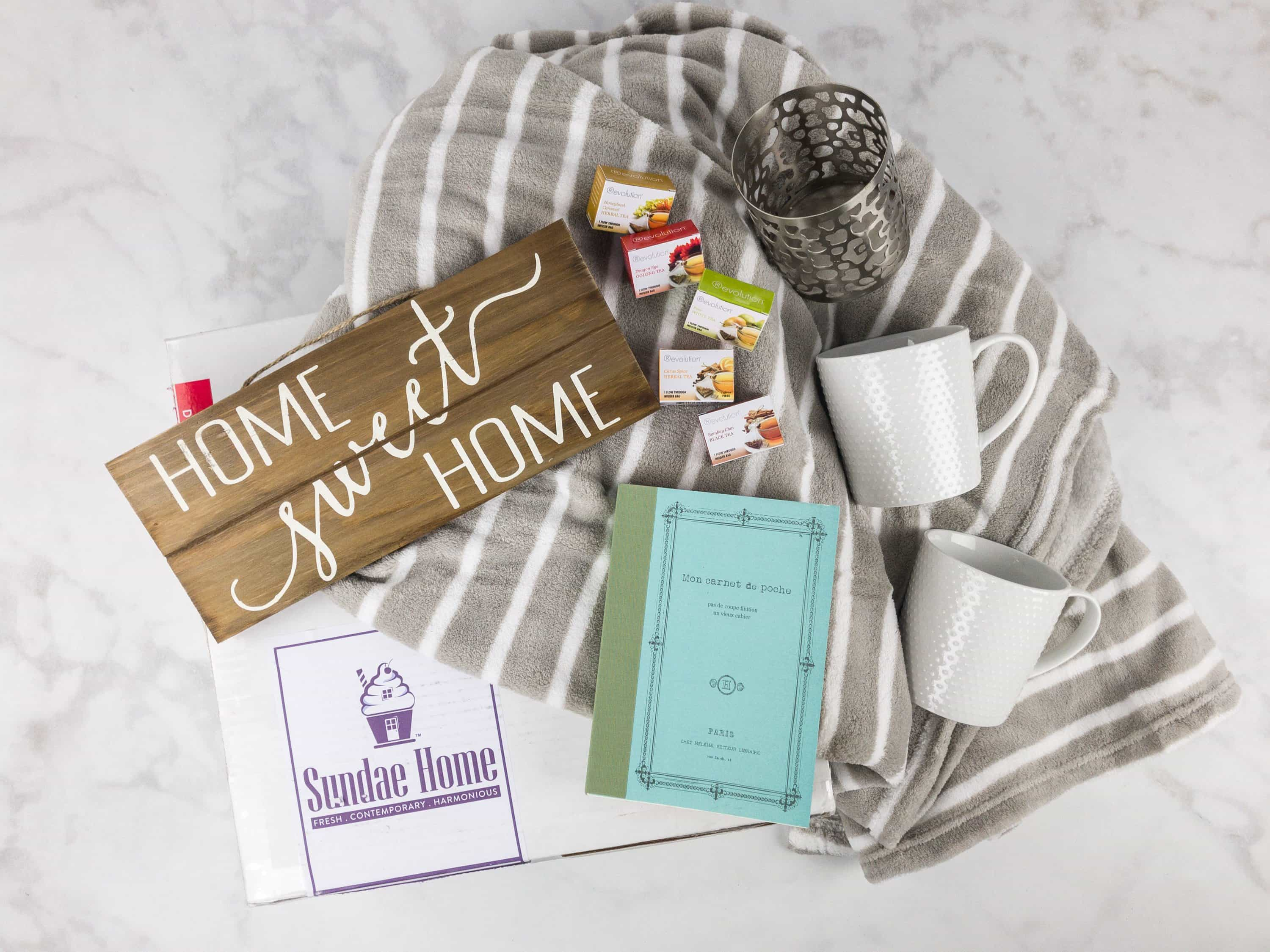 Sundae Home October 2017 Subscription Box Review + Coupon!