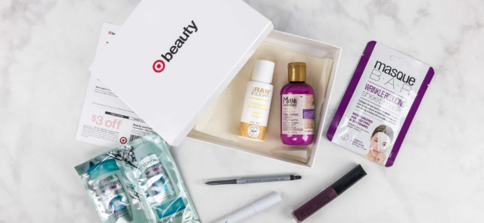 Target Beauty Box October 2017 Review