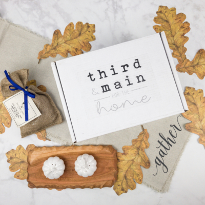 Third & Main November 2017 Subscription Box Review