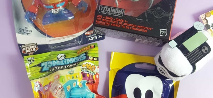 Toy Box Monthly October 2017 Subscription Box Review