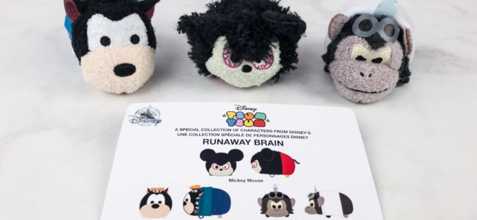 Disney Tsum Tsum October 2017 Subscription Box Review