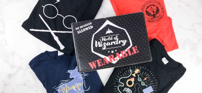 Geek Gear World of Wizardry Wearables Subscription Box Review + Coupon – October 2017