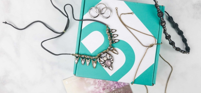 Your Bijoux Box October 2017 Subscription Box Review + Coupon