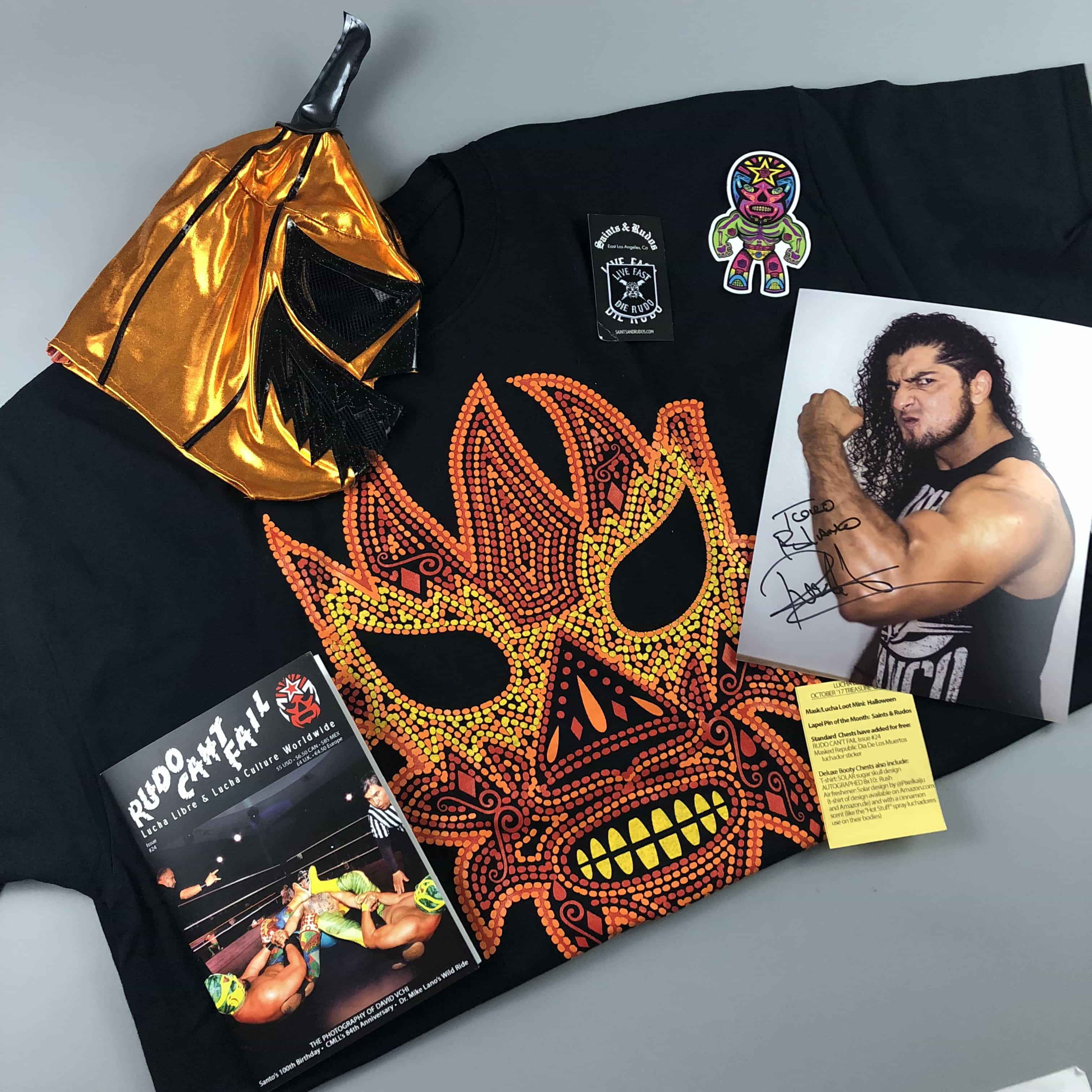 Lucha Loot Subscription Box Review & Coupon – October 2017