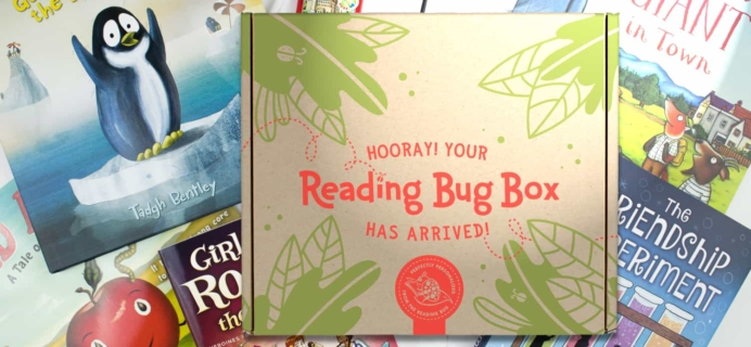Reading Bug Box Black Friday 2017 Deal: Free shipping On 6+ Month Subscriptions!