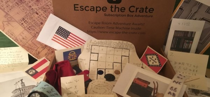Escape the Crate Cyber Monday 2017 Coupon: 20% off your first box!