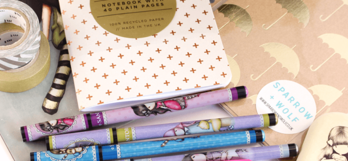 Busy Bee Stationery 2017 Black Friday Coupon: Take 20% off your first box!
